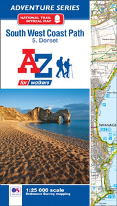 SW Coast Path Dorset Adventure Atlas-9781782571544