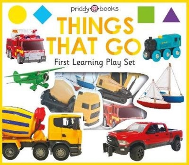 First Learning Things That Go Play Set-9781783418862