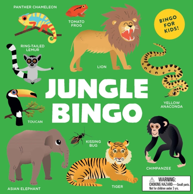 Jungle Bingo-9781786275011