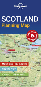 Lonely Planet Scotland Planning Map-9781788686051