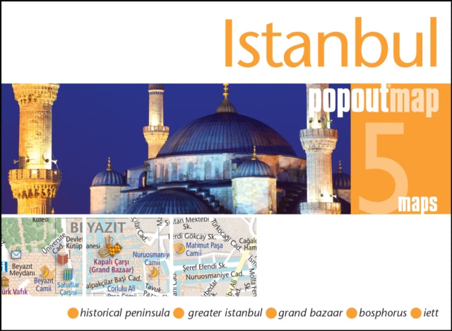 Istanbul Popout Map-9781910218242