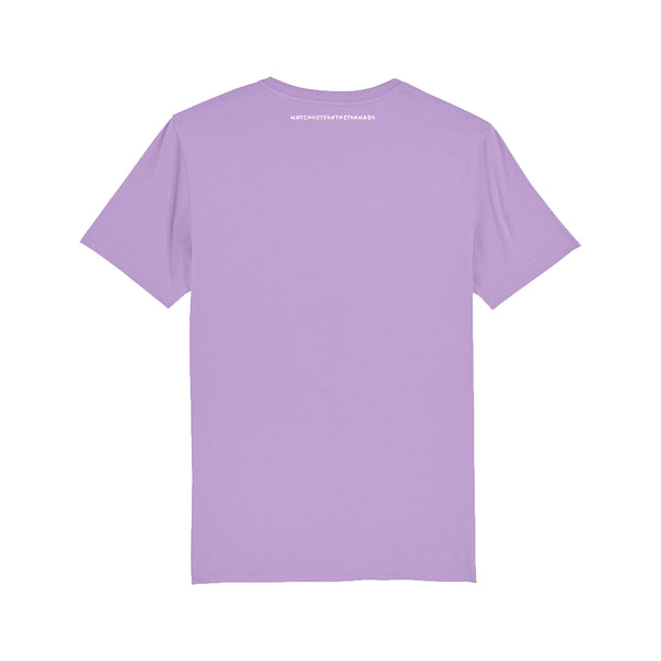 "T-Shirt lilas ""Watch Out For The Tornado"""