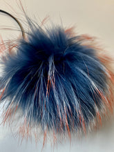 Load image into Gallery viewer, Fur Pom Poms with ribbon ties