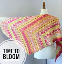 Load image into Gallery viewer, Time to Bloom Shawl Kit