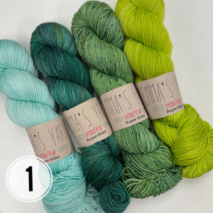 PRE-ORDER - Re-Released Botanique Kit from Casapinka with Emma's Yarn
