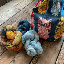 Load image into Gallery viewer, Dream in Color Holiday Kit Nest & Burrow cowl by Sarah B. Abram