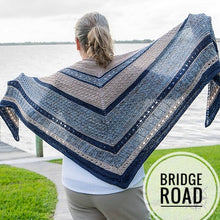 Load image into Gallery viewer, Bridge Road Shawl Kit