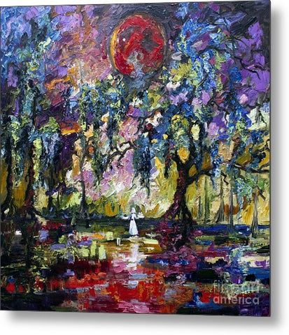Impressionist oil painting Savannah Georgia Garden of Good and Evil