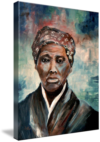 Harriet Tubman Painting
