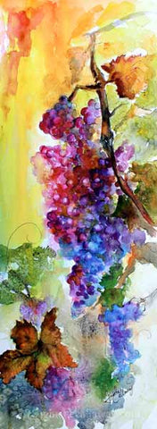 Grapes Watercolors