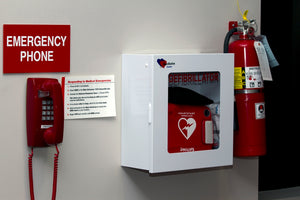 Should There Be an AED Defibrillator Beside Every Fire Extinguisher?