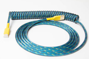 Custom Coiled USB Cable