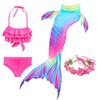 Mermaid Costume With Swimsuit