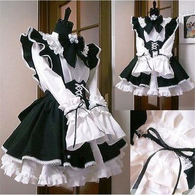 Maid Outfit With Long Dress