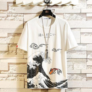 Waves Anime T-Shirt