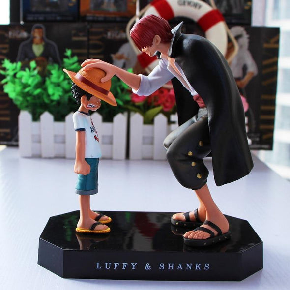 Luffy & Shanks PVC Action Figure