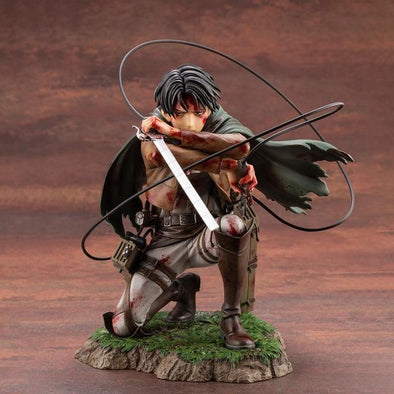 Attack on Titan Artfx J Levi Action Figure