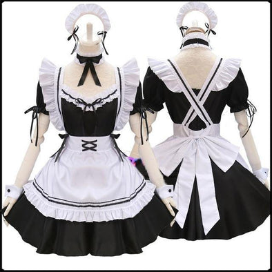 Lolita French Maid Cosplay Costume