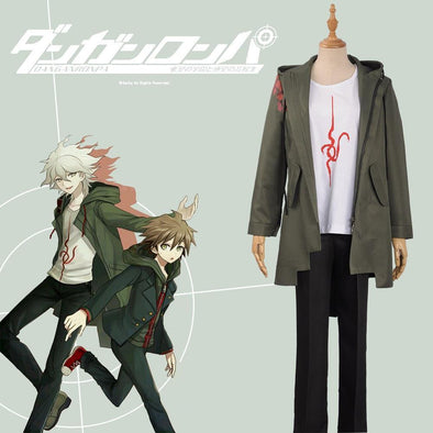 Super Danganronpa 2 Nagito Komaeda Cosplay Costume