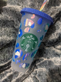 Leopard spots Starbucks Frosted Reusable Cups - Cupping It Real