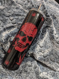 Skull Cannabis peek-a-boo Tumbler - Cupping It Real