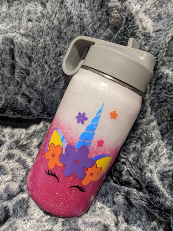 Kids Custom Glitter Tumblers - Cupping It Real