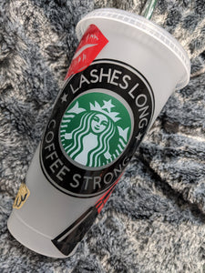 Makeup fan Starbucks Frosted Reusable Cups - Cupping It Real