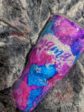 mama-bear-alcohol-ink-pink-blue-glitter-peek-a-boo-tumbler-1