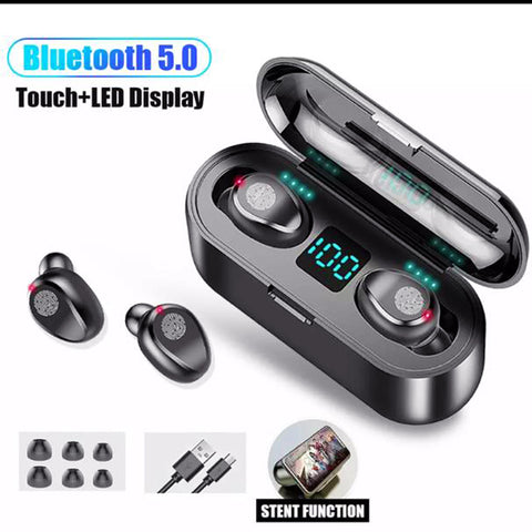 f9 new earbud with 2000mah