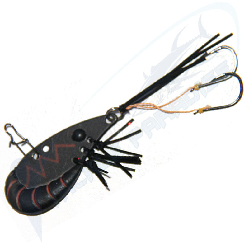 Black 38mm Prawn Blades