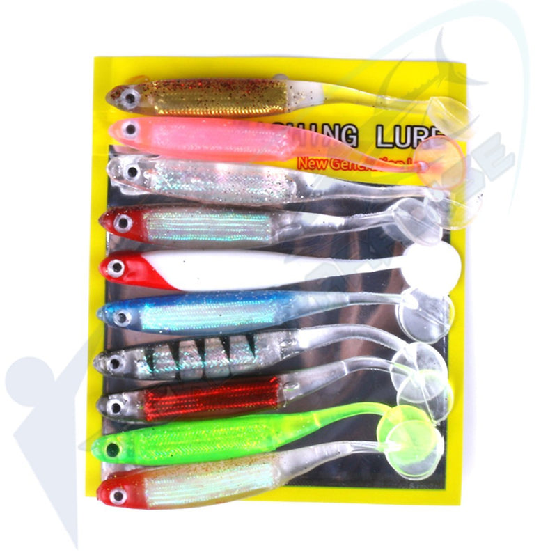 Soft Plastic Paddle Tail Lures