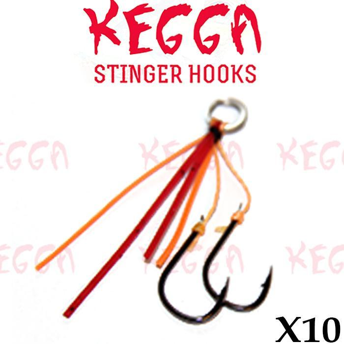 Bream Stinger Hooks Duel Colour