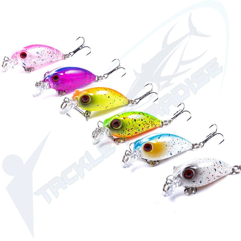 35mm Shallow Diving Crankbait