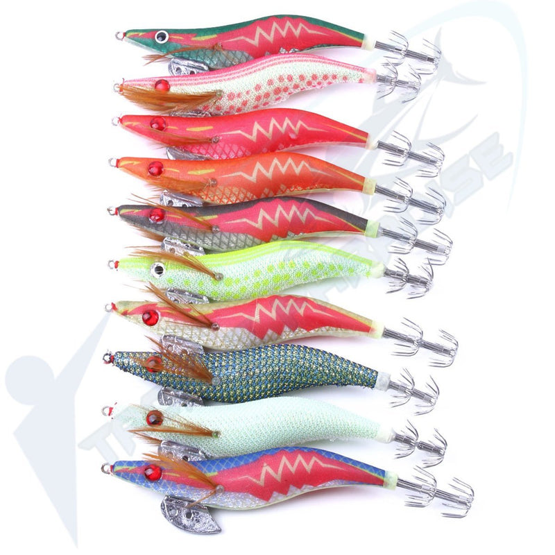 10 Pack of Squid Jigs