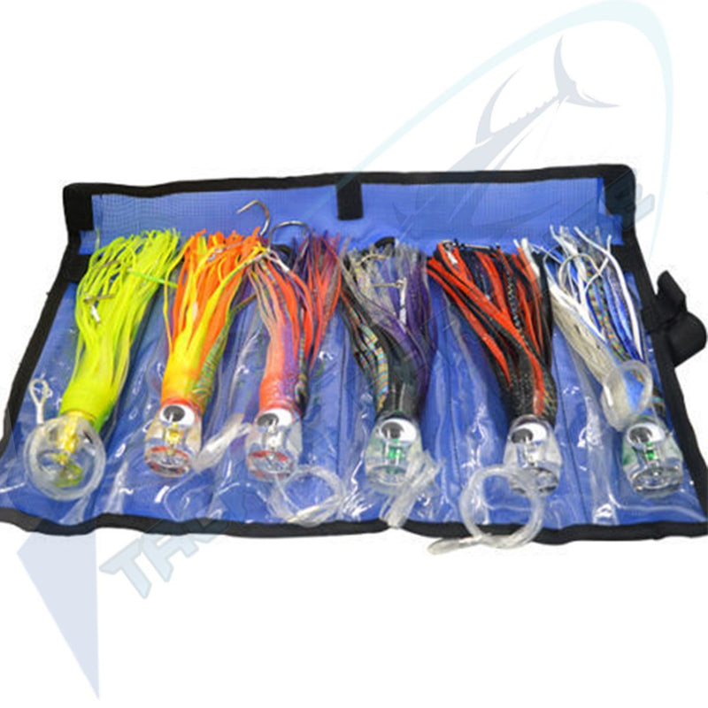 Game Fishing Skirted Trolling Lures
