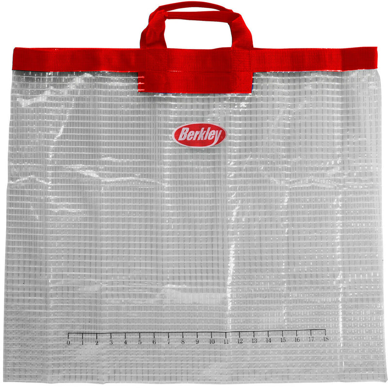 "Berkley Weigh In Bag Heavy Duty PVC Fish Bag with 18"" Ruler"