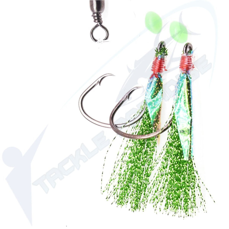 Green Snapper Flasher Rigs