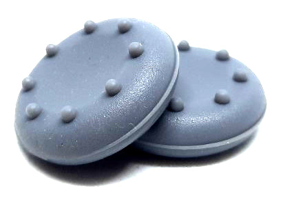Concave Grey Thumbstick Grips