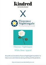 Load image into Gallery viewer, White Rose Greeting Cards - Pack of 20 - bekindbeflorence