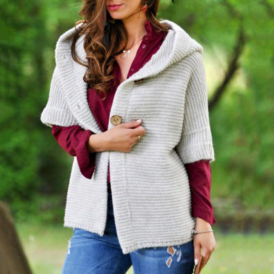 Half Sleeve Button Soft Cardigans