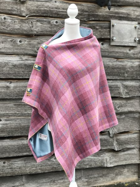 Scarriff Harris Tweed Cape