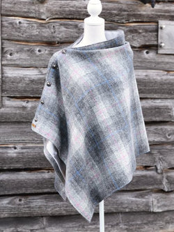 Raphoe Harris Tweed Cape