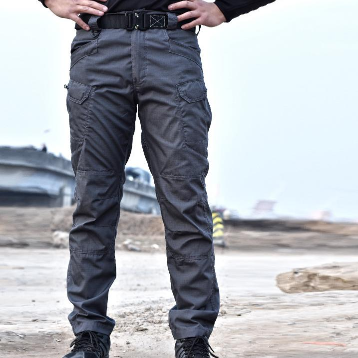 Outdoor Tactical Pants Army Fan  Multi-Pocket Combat Pants