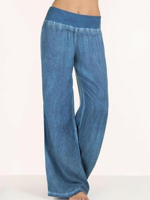 Women Casual Basic Solid Pants