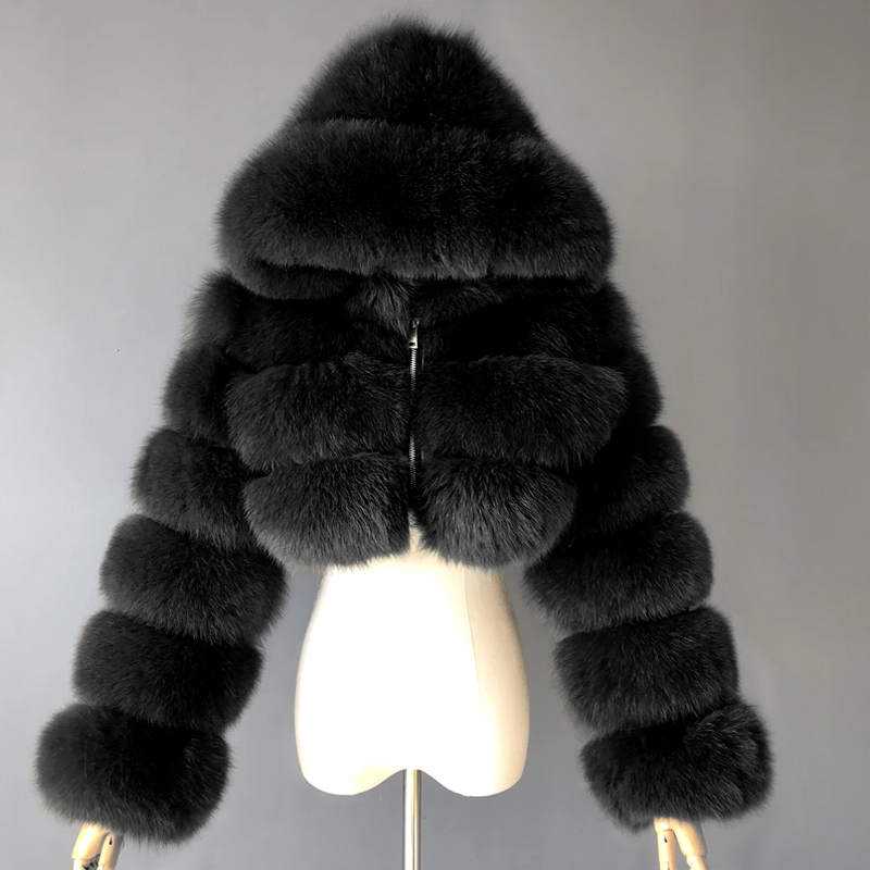 【Buy 2 Free Shipping】My Cute Fur Solid Color Jacket Coat