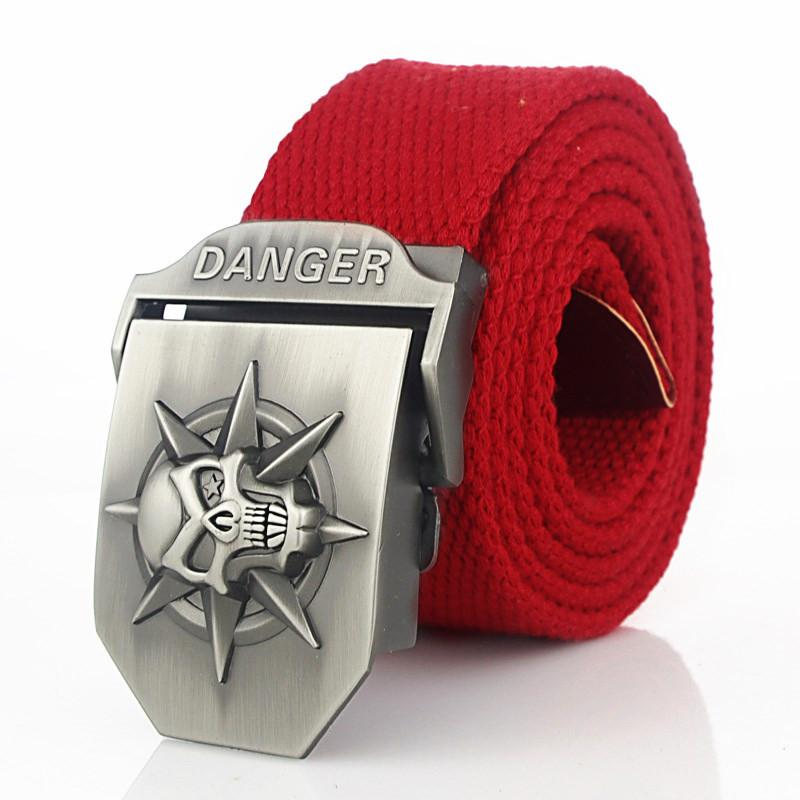 Alloy Snap Canvas Tactical Belt
