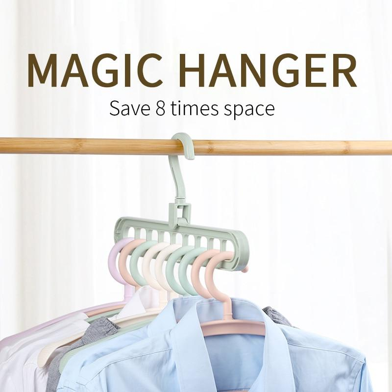 🔥50% Off🔥- Space-saving multifunctional magic hanger-Buy More Free More