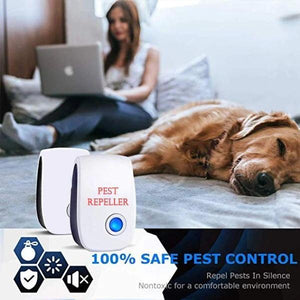 50% OFF-Ultrasonic Electronic Insect Repellent-Buy More Save More