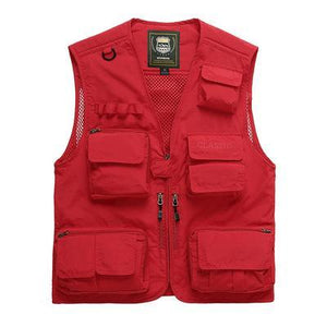 🔥50% Off🔥-Outdoor Lightweight Vest With 16 Pockets-Buy 2 Free Shipping