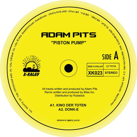 Adam Pits - Piston Pump w/ bliss inc remixes.